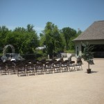 River Rail Bar Outdoor Wedding Reception